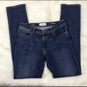 DL1961 CoCo Curvy Straight Jeans size 28  B126
